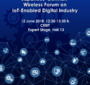 Japanese-German Wireless Forum on IoT-Enabled Digital Industry, Event of NICT Europe Center
