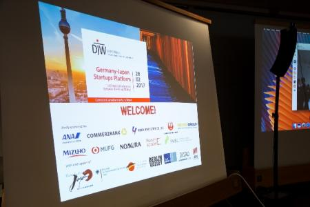 Welcome to the 1st General Conference of the Germany-Japan Startups Platform © DJW
